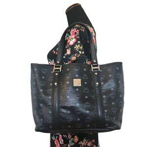 MCM Black Tote Shopper Bag